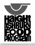 Haight Ashbury Food Program